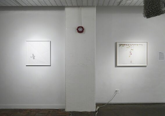 Overlap: Life Tapestries Curated By Vida Sabbaghi, installation view