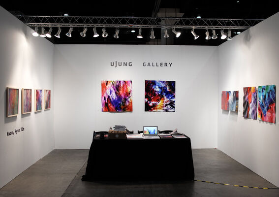uJung Gallery at LA Art Show 2018, installation view