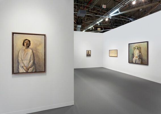 Victoria Miro at The Armory Show 2019, installation view