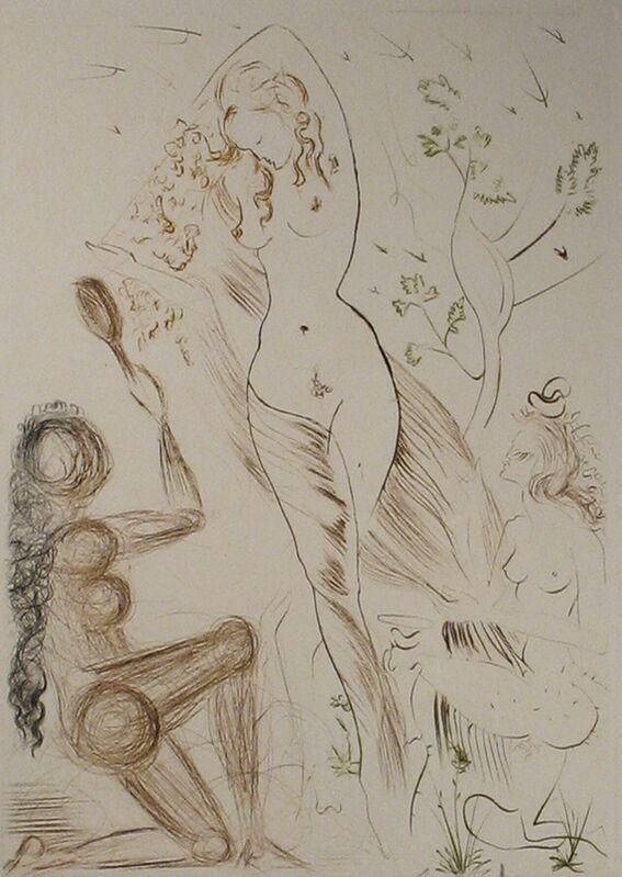 Salvador Dalí, 'Blanchefleur', 1972, Print, Drypoint printed in color, DTR Modern Galleries