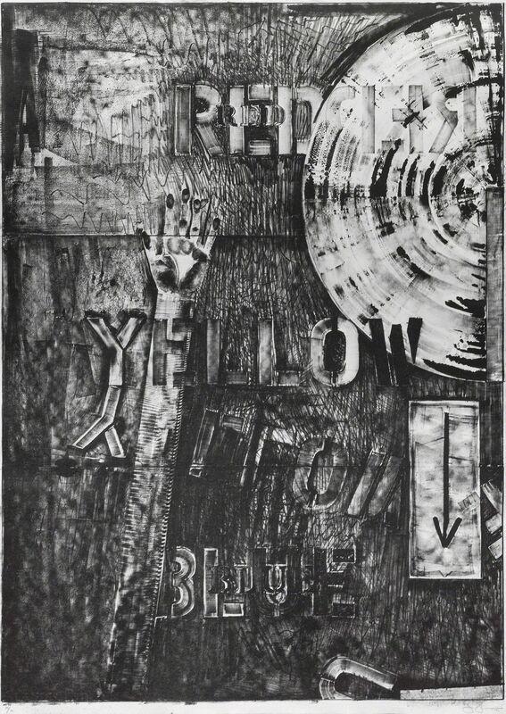 Jasper Johns, 'Land's end', 1979, Print, Lithograph, Galerie Lelong & Co.