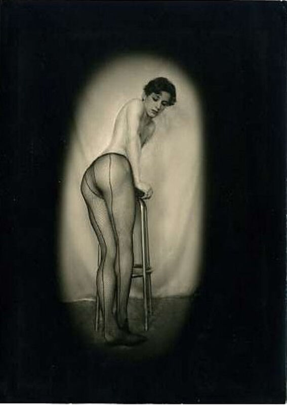 Pierre Molinier, 'Portrait of Luciano Castelli', ca. 1970s, Photography, Vintage silver gelatin print, Richard Saltoun