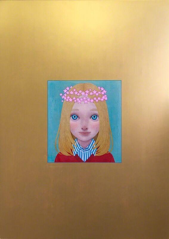Kouhei Yamada, 'Velonica', 2015, Painting, Acrylic, µ-ground on cotton panel, Kinosho Kikaku