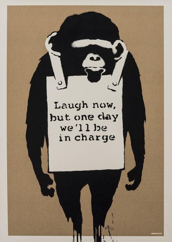 Banksy, 'Laugh Now', 2003, Print, Screenprint in colours, Forum Auctions