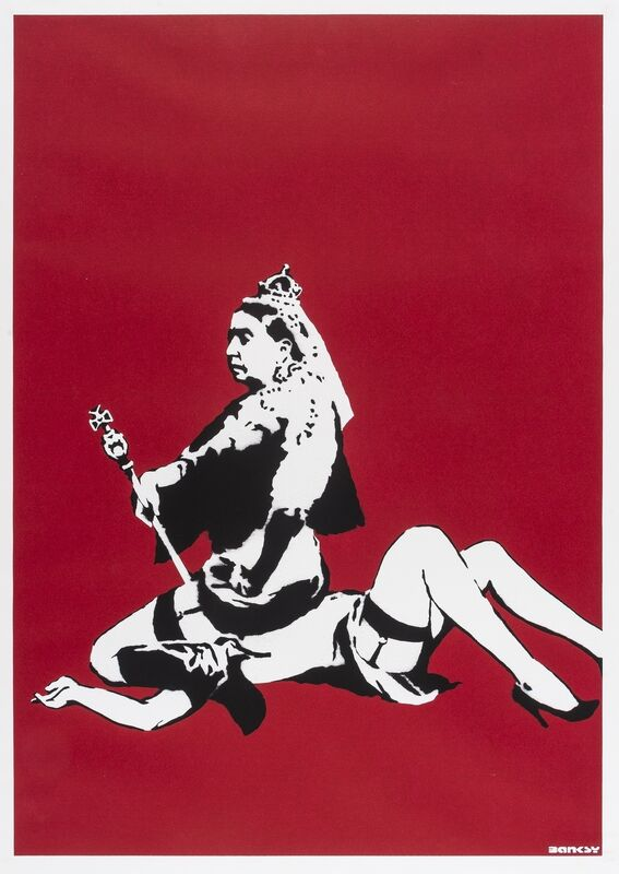 Banksy, 'Queen Vic', 2003, Print, Screenprint in colours, Forum Auctions
