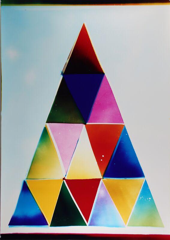 Liz Nielsen, 'Cool Mountain Path', 2018, Photography, Analogue Chromogenic Photogram on FujiFlex, Unique, Black Box Projects