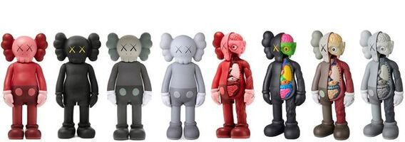 KAWS, 'Companion Flayed & Companion Figure As A Set', 2016