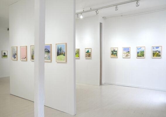 Per Adolfsen - Landscapes, installation view