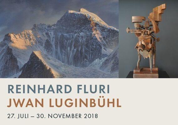» REINHARD FLURI / JWAN LUGINBÜHL «, installation view
