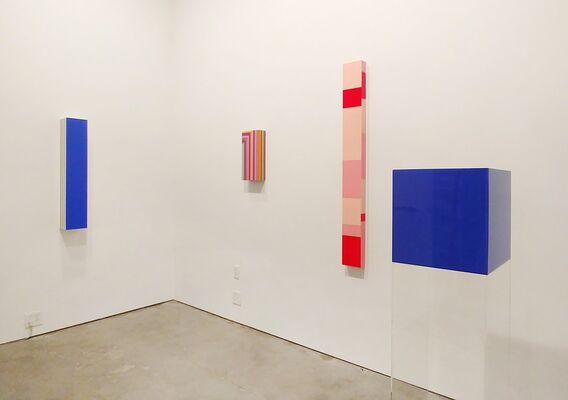 Across This New Divide, installation view