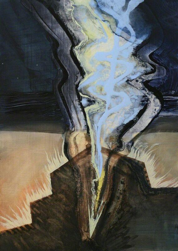 Julia von Metzsch Ramos, 'Spindrift', 2013, Painting, Oil on panel, Gallery NAGA
