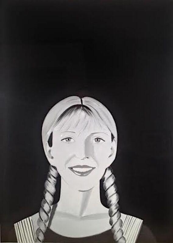 Alex Katz, 'Jessica', 2017, Print, Archival pigment inks on crane Museo Max 365 gsm paper, Vertu Fine Art