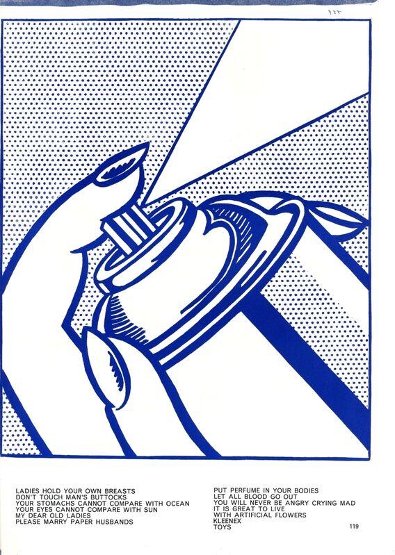 Roy Lichtenstein, 'Spray Can', 1964, Print, Original lithograph on wove paper, Samhart Gallery