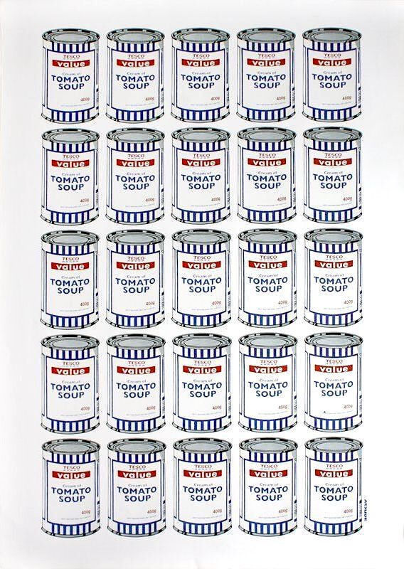 Banksy, 'Soup Cans', 2010, Print, Offset lithograph on paper, Kumi Contemporary / Verso Contemporary