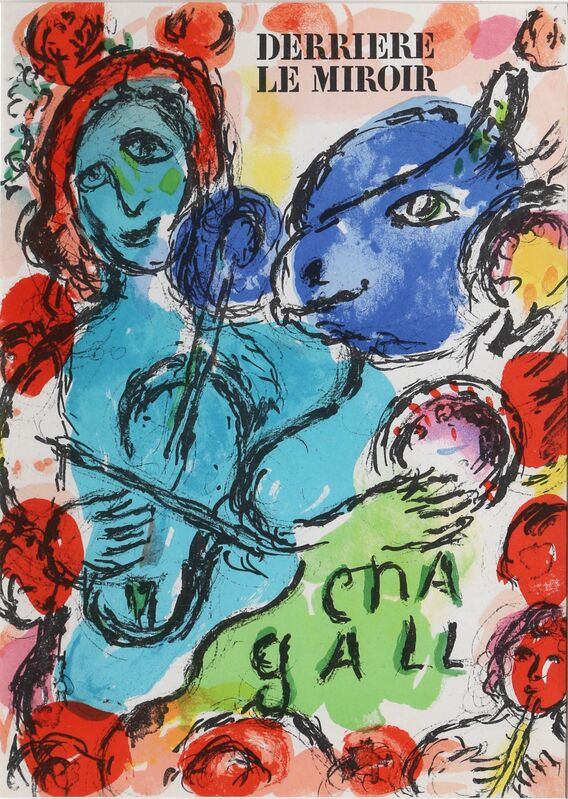 Marc Chagall, 'Derrière le Miroir Cover', 1972, Print, Lithograph, RoGallery