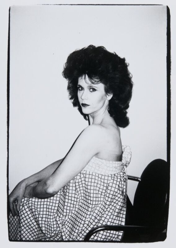Andy Warhol, 'Andy Warhol, Photograph of Jane Fonda, 1982', 1982, Photography, Silver Gelatin Print, Hedges Projects