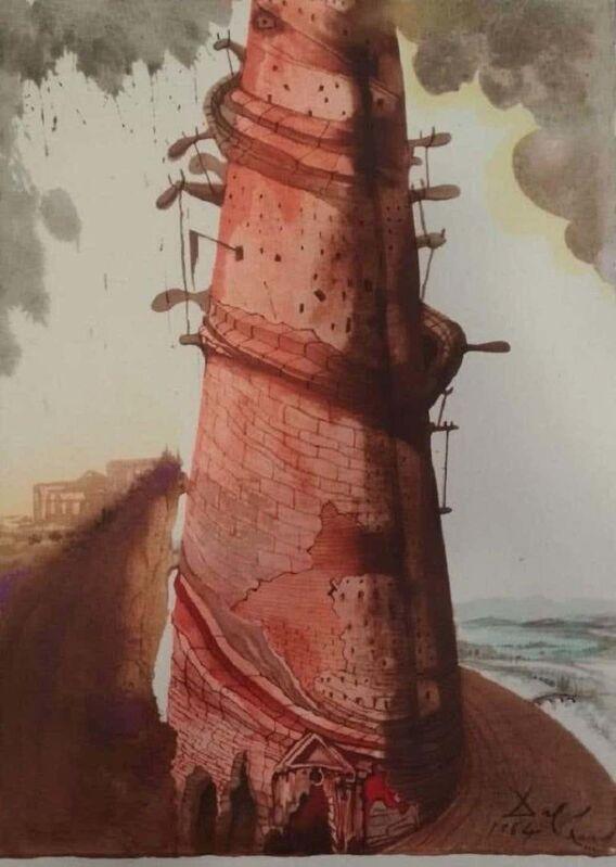 Salvador Dalí, 'Turris Babel', 1964, Reproduction, Lithograph, Wallector