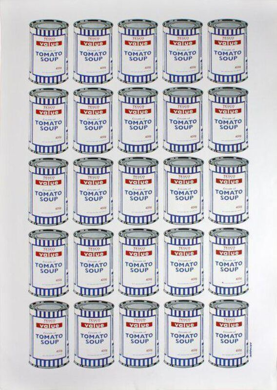 Banksy, 'Soup Cans', ca. 2006, Print, Offset lithograph on paper, Dellasposa