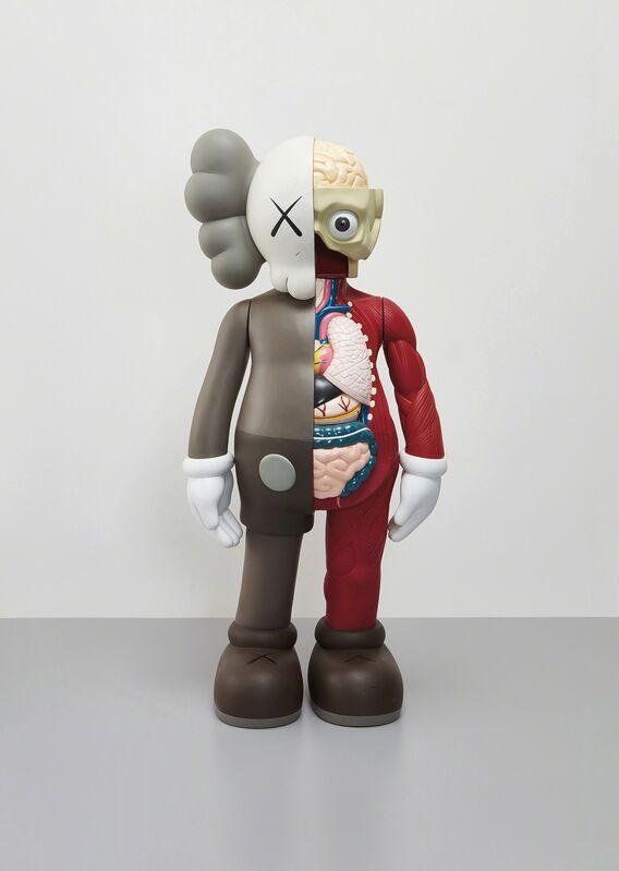 KAWS, 'Four Foot Dissected Companion (Brown)', 2009, Design/Decorative Art, Painted cast vinyl, Phillips