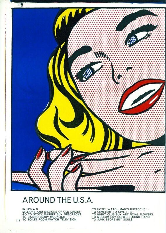 Roy Lichtenstein, 'Girl', 1964, Print, Original lithograph on wove paper, Samhart Gallery