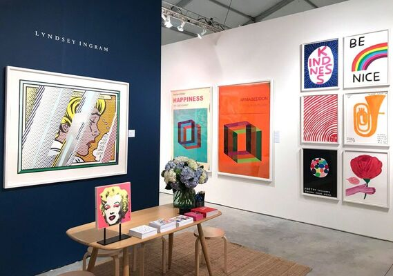 Lyndsey Ingram at Art Miami 2018, installation view