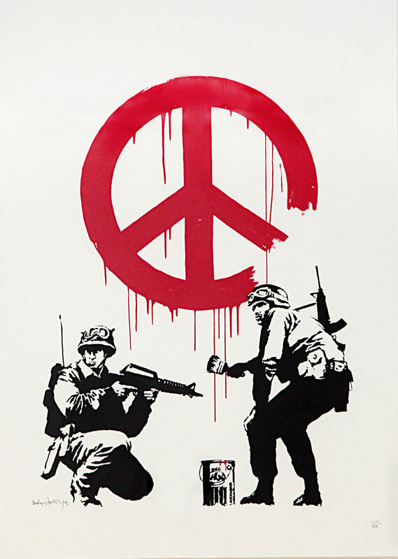 Banksy, 'CND', 2005, Print, Silkscreen printed in colours, DIGARD AUCTION