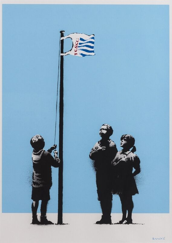 Banksy, 'Very Little Helps', 2008, Print, Screenprint in colours, Forum Auctions