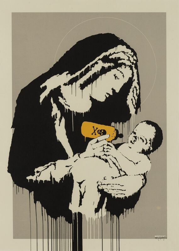 Banksy, 'Toxic Mary', 2004, Print, Screenprint in colours, Forum Auctions