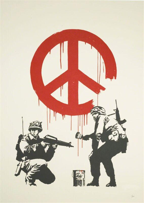 Banksy, 'CND Soldiers', 2005, Print, Screen Print, Graffik Gallery Limited