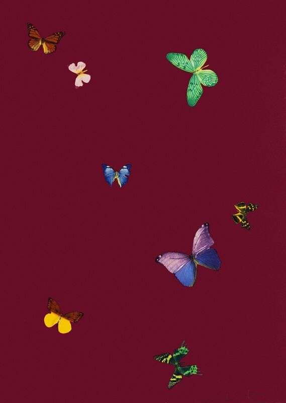 Damien Hirst, 'The Wonder of You, Your Smell', 2015, Print, Etching printed in colours, Forum Auctions
