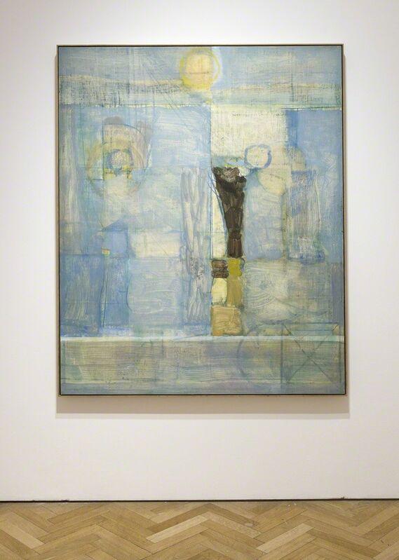 Matthew Burrows, 'Wall', 2017, Painting, Oil on board, Vigo Gallery