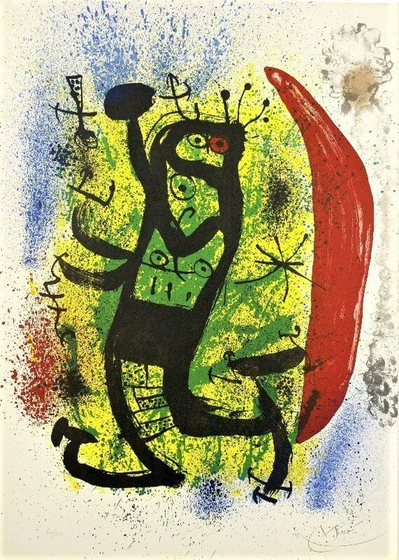 Joan Miró, 'Le Homard', 1969, Print, Lithograph on wove paper, Artsy x Capsule Auctions