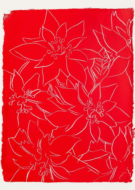 Andy Warhol, 'Poinsettia', 1983, Print, Silkscreen on paperboard, Heritage Auctions