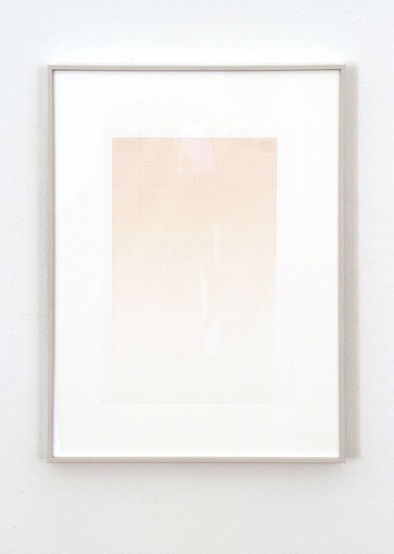 Igor Eskinja, 'We have never been modern', 2017, Painting, Sun painting, Graph paper, exposed to sunlight, Galerie Michaela Stock