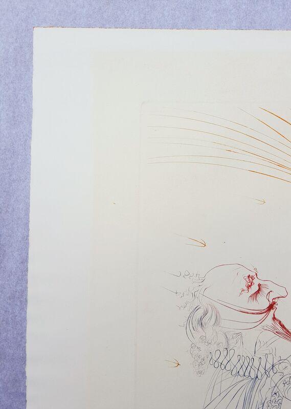 Salvador Dalí, 'Cyrano de Bergerac and Roxanne', 1972, Print, Color Engraving, Graves International Art