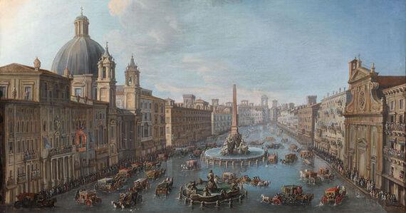Antonio Joli, 'Piazza Navona Allagata', 18th century