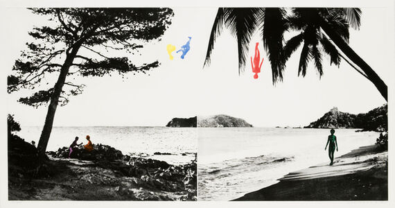 John Baldessari, 'Paradise', 1989-1990