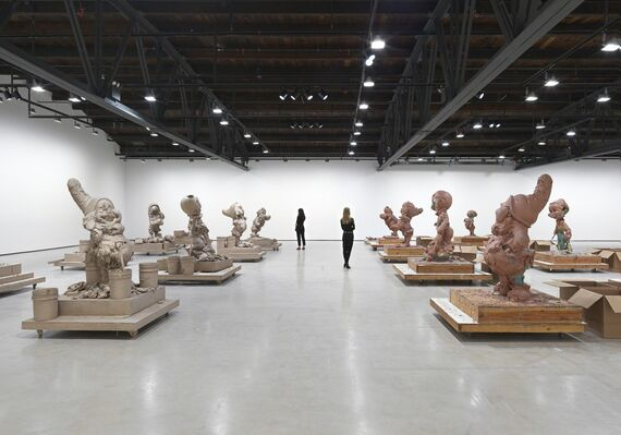 Paul McCarthy: Raw Spinoffs Continuations, installation view
