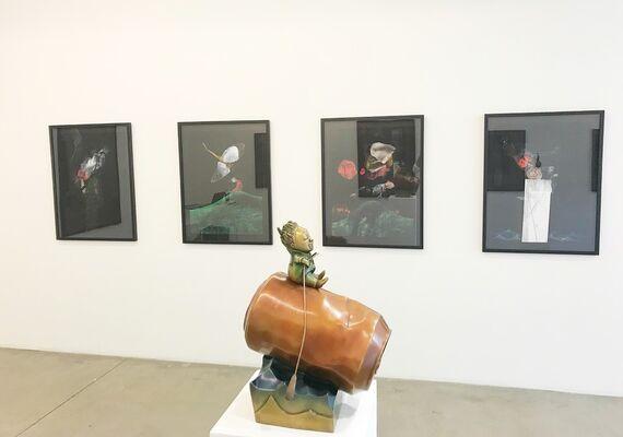 DOS PATRIAS: CUBA Y LA NOCHE   Pedro Pablo Oliva, installation view