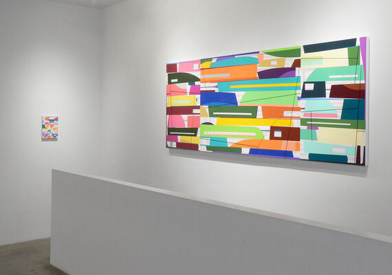 Gary Petersen: Just Hold On, installation view