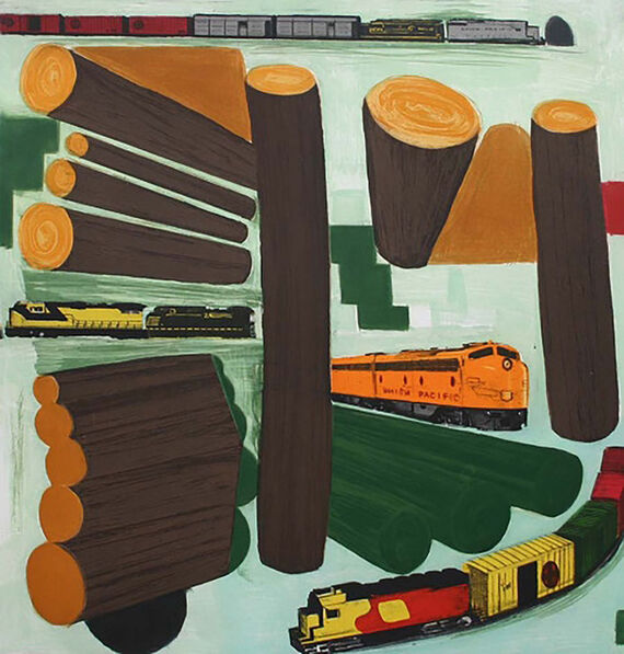 Chris Brown, 'Iron and Wood', 2004