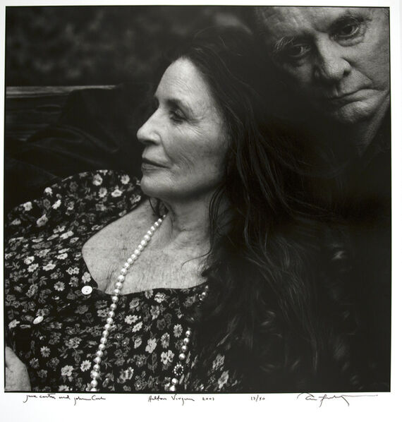 Annie Leibovitz, 'June Carter and Johnny Cash, Hiltons, Virginia ', 2001