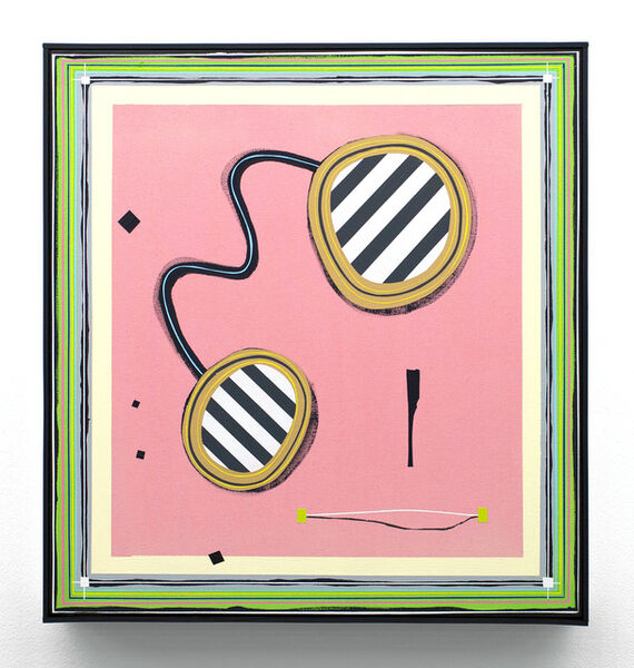 Frank Maier, 'Strips (in mirrors)', 2018
