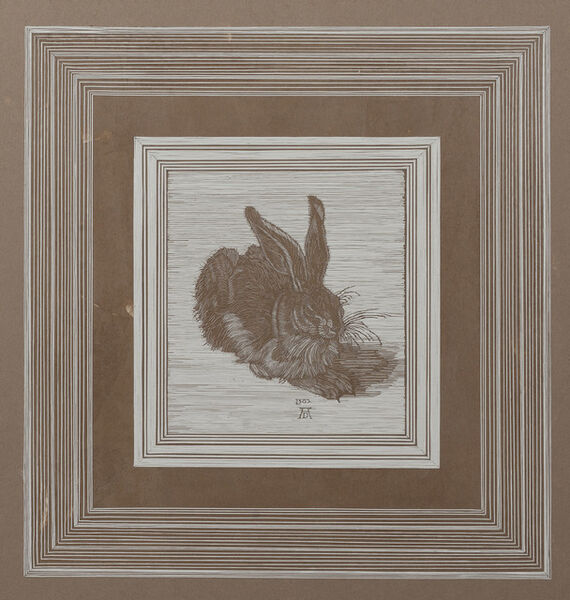 Pavel Acosta, 'After Young Hare by Albrecht Dürer (1502)', 2018