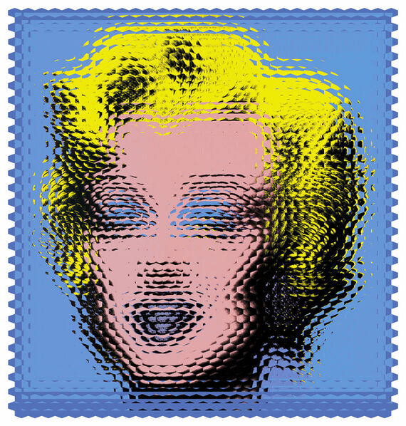 Fabián Ugalde, 'Expanded Warhol (BLUE)', 2016