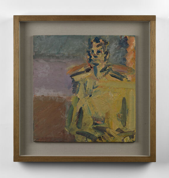 Frank Auerbach, 'Jake Seated', 2007-2008