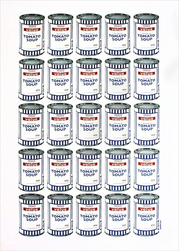 Banksy, 'Soup Cans', 2006, Print, Offset lithograph printed in colors, EHC Fine Art