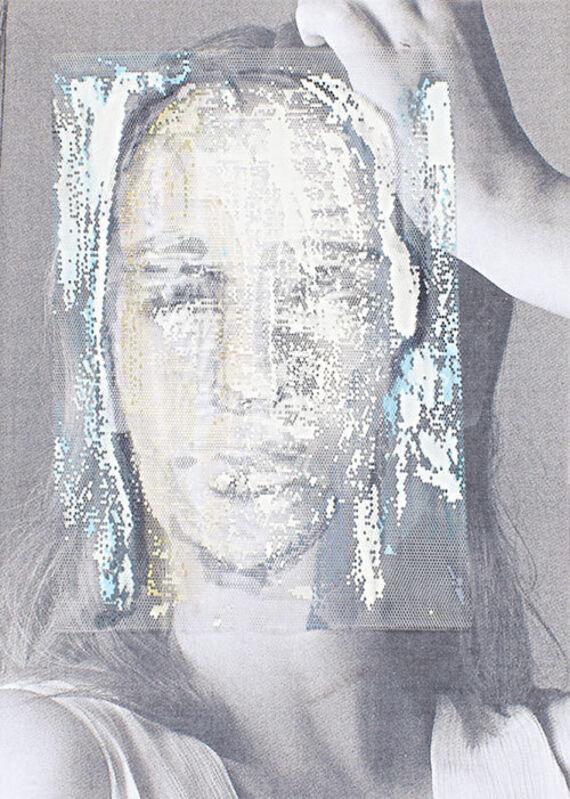Irfan Önürmen, 'CV N. 5', 2016, Mixed Media, Tulle and acrylic on photocopy, Aria Art Gallery