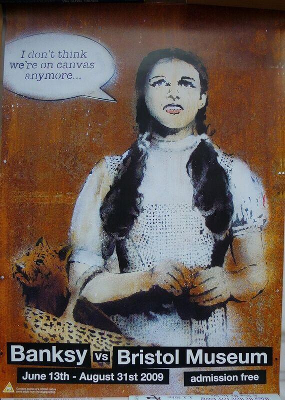 "Banksy, 'BANKSY VS BRISTOL MUSEUM ""DOROTHY"" POSTER', 2009, Ephemera or Merchandise, Offset lithograph, Arts Limited"