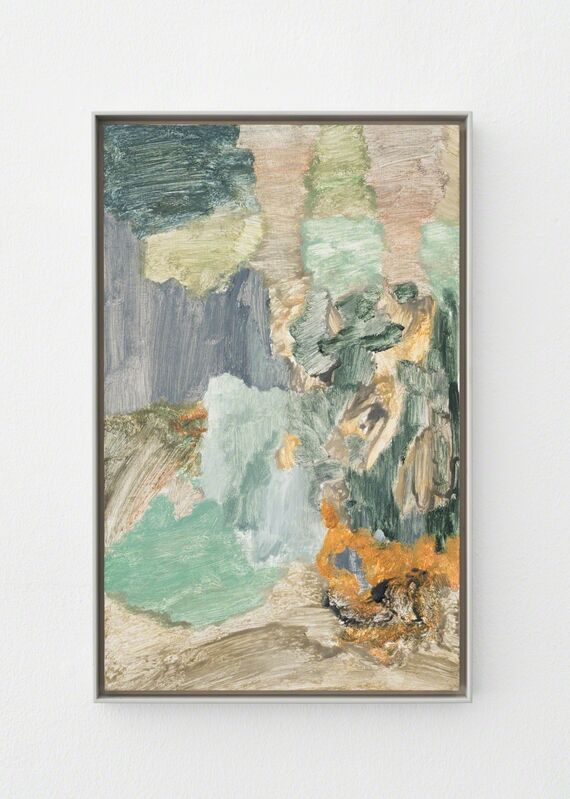 Andreas Eriksson, 'Glade', 2017, Painting, Oil and tempera on wooden panel, Galleri Susanne Ottesen